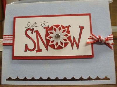 12 4 08 Let it Snow with Snowflake
