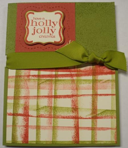 8 16 09 Holly Jolly Striped