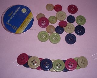 1 14 2011 Button Bracelet 2