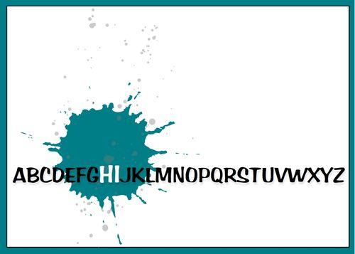 8 25 12 Alphabet HI-003
