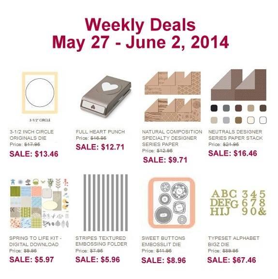 Weekly Deals - May 27